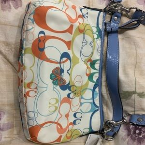 Couch bag - fun and colorful - brand new